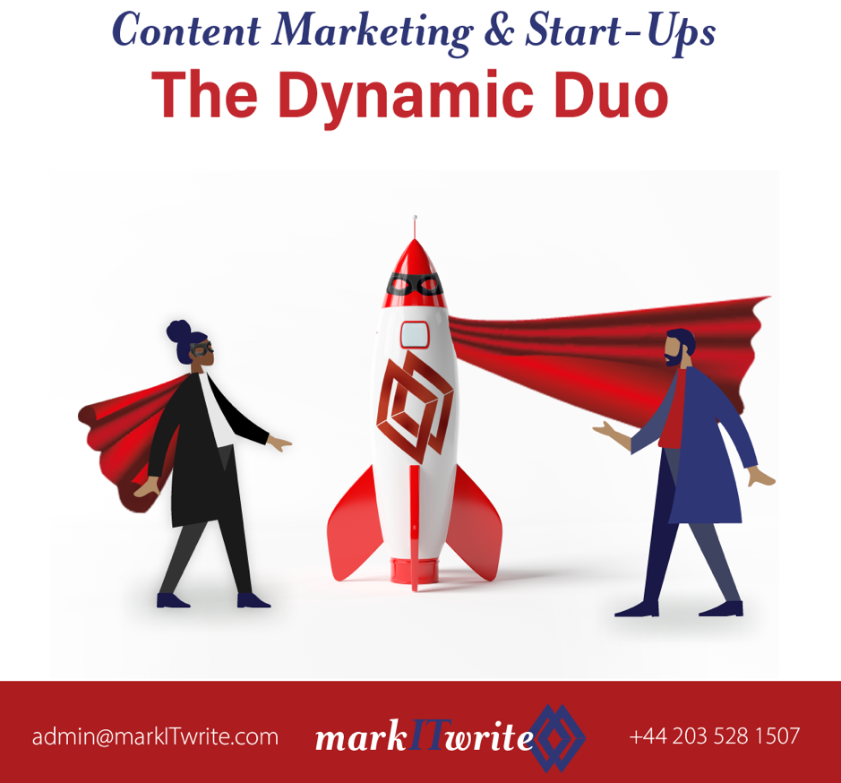 Content Marketing and Start-Ups – The Dynamic Duo